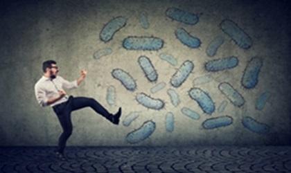 Kicking Away Germs